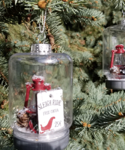 How To Make Mason Jar Ornaments _DIY