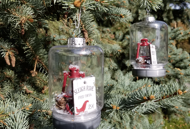 How To Make Mason Jar Ornaments DIY