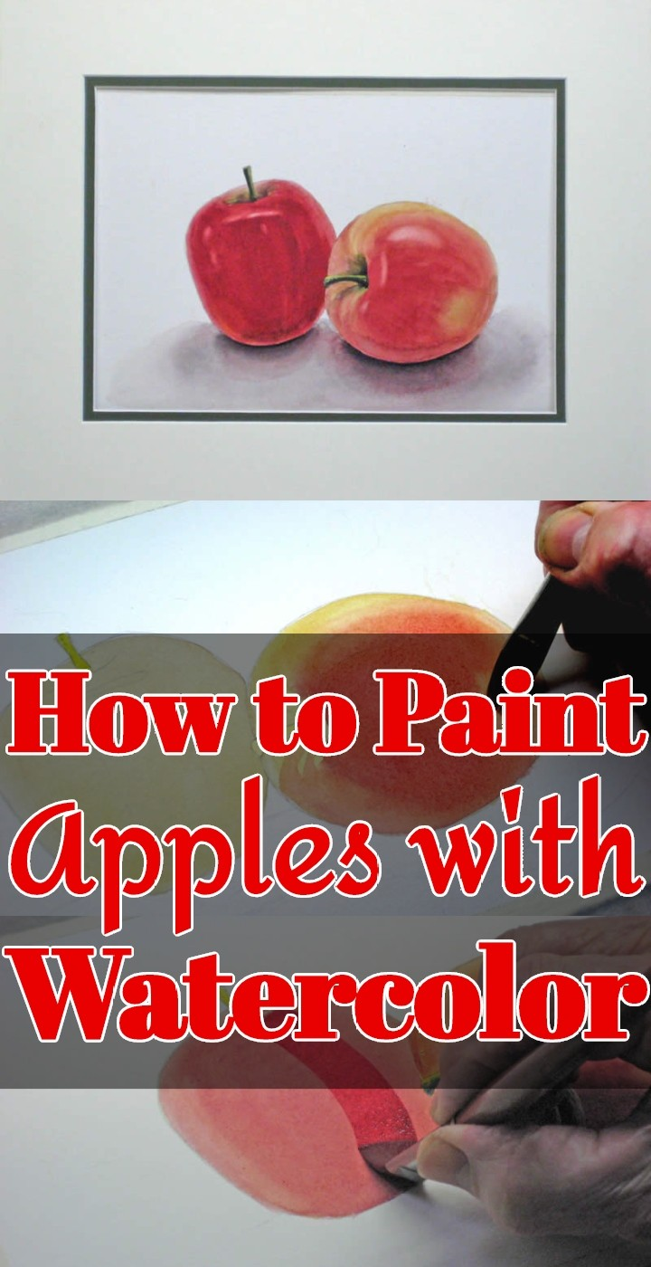 How to Paint Apples with Watercolor