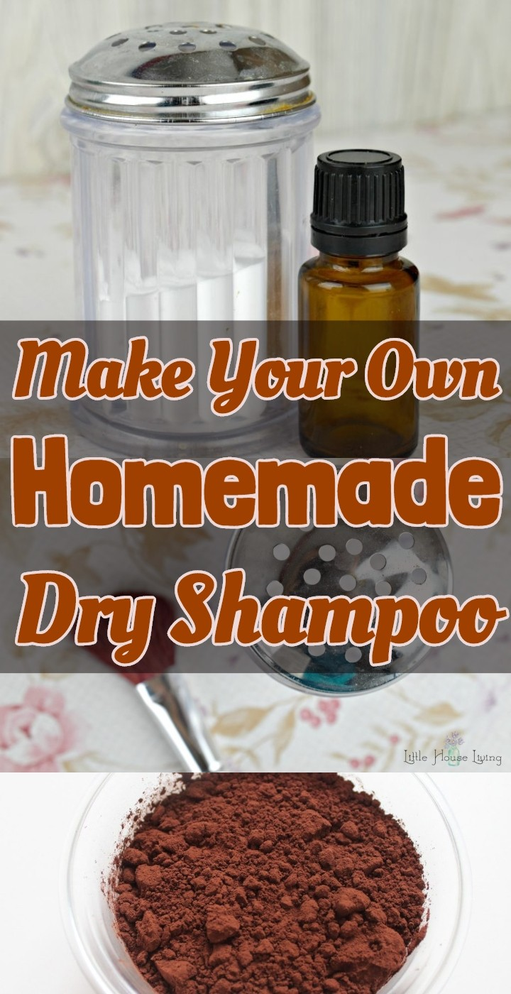 Make Your Own Homemade Dry Shampoo