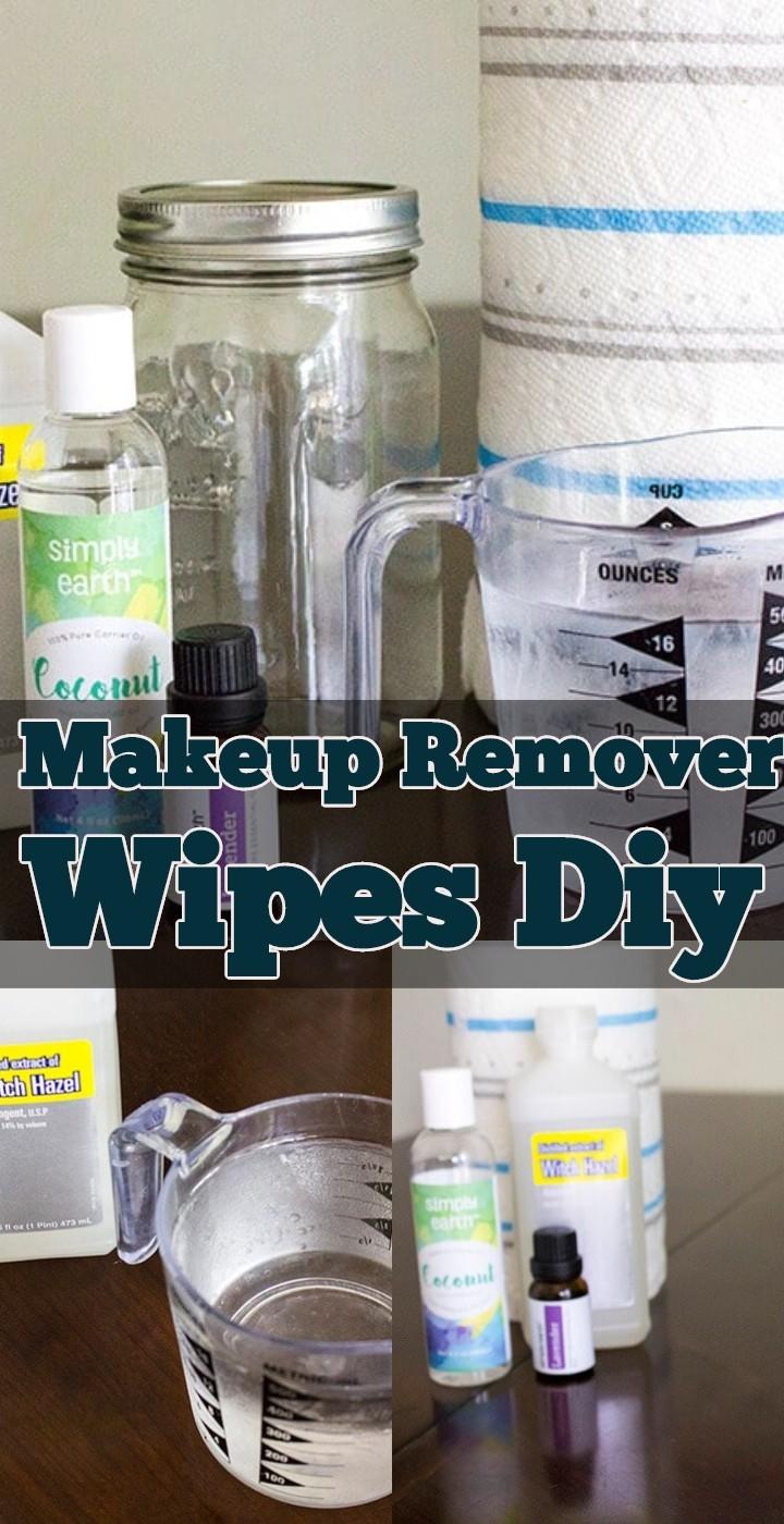 Makeup Remover Wipes DIY