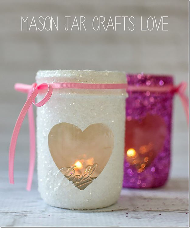 Mason Jar Valentine Gifts And Crafts