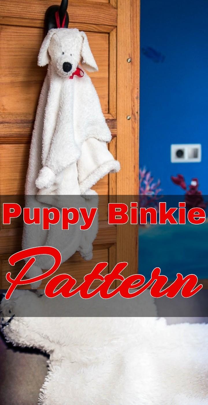 Puppy Binkie Pattern
