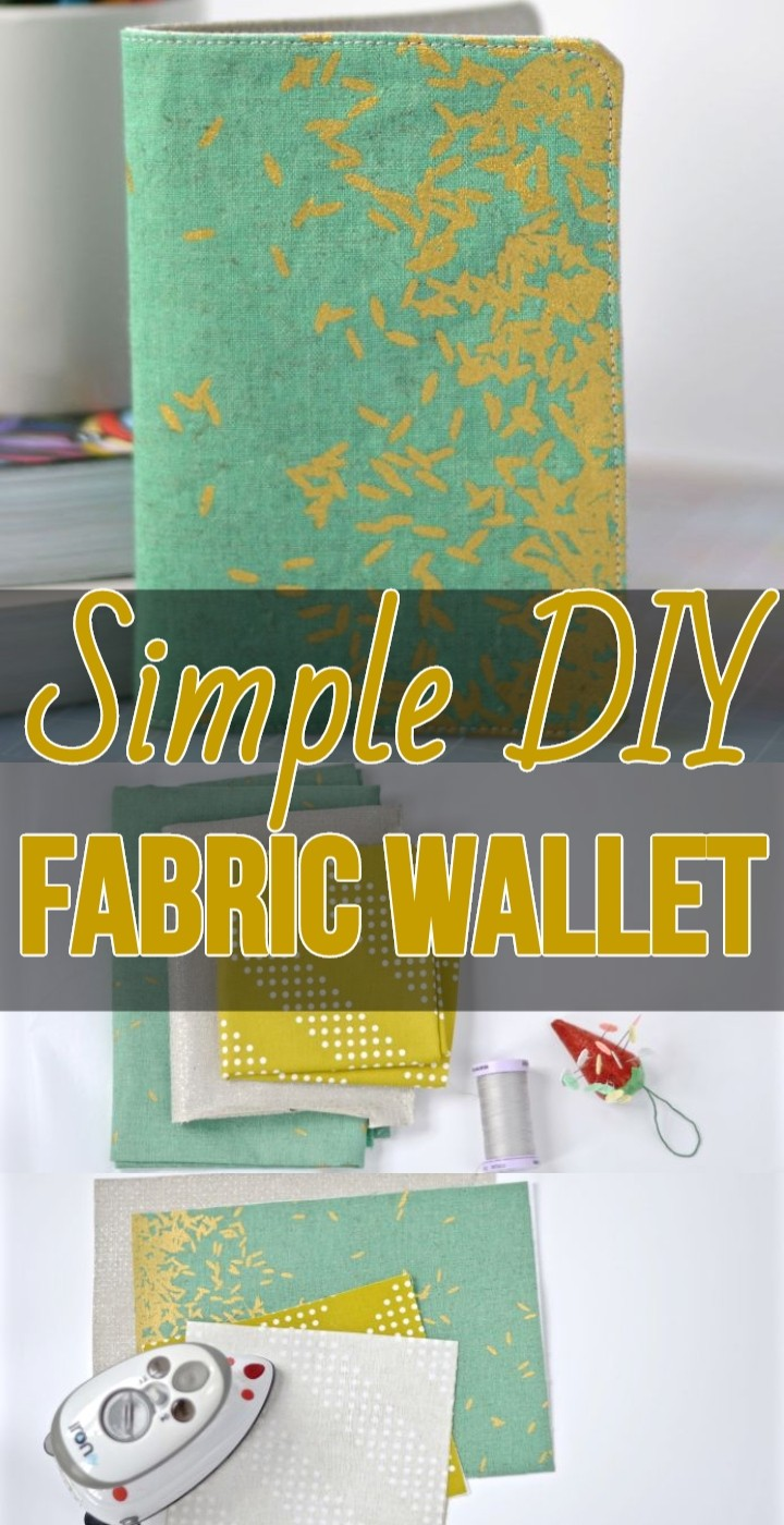 Simple DIY Fabric Wallet