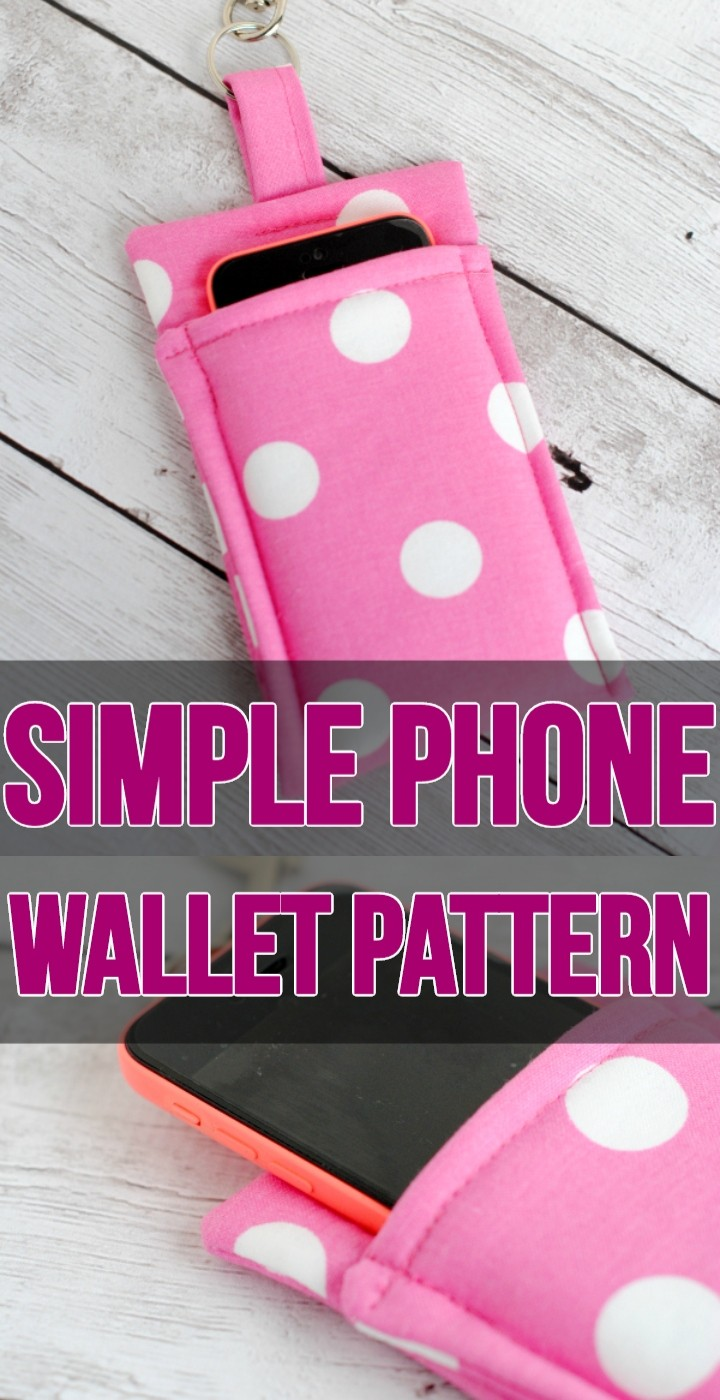 Simple Phone Wallet Pattern