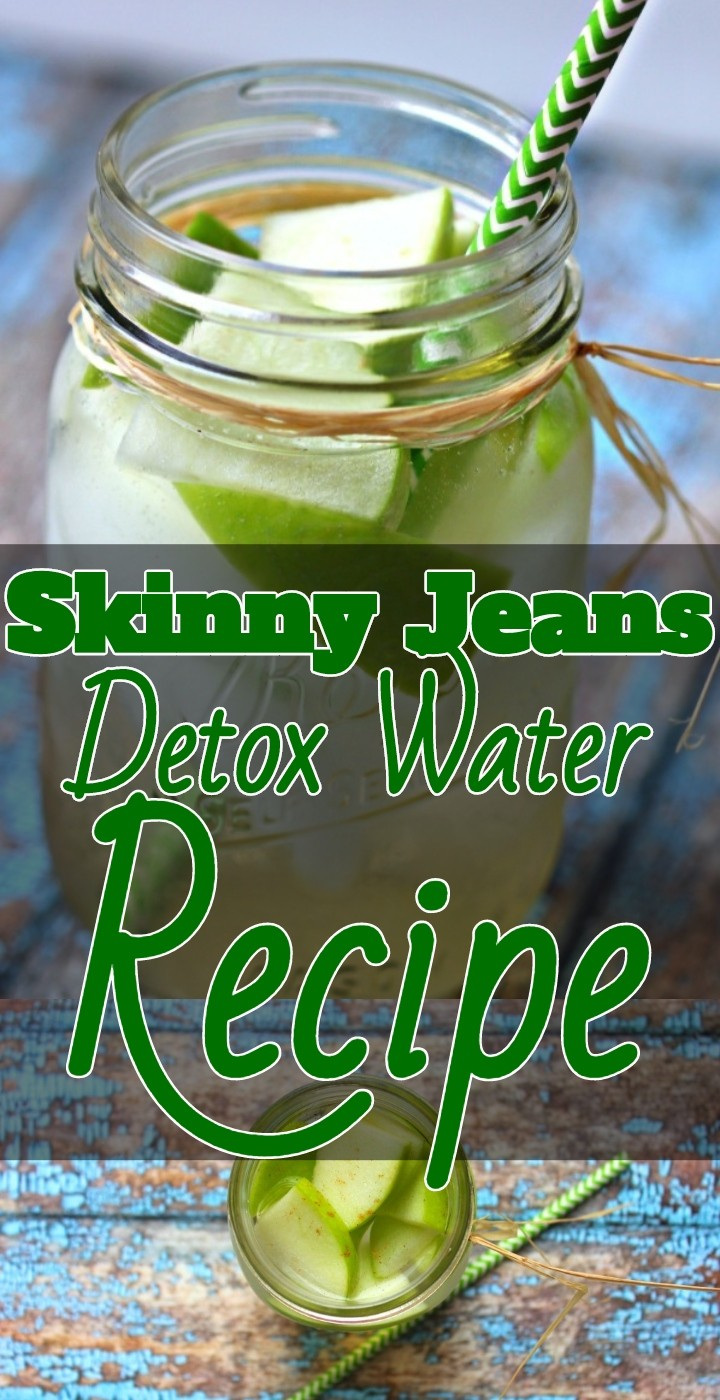 Skinny Jeans Detox Water Recipe