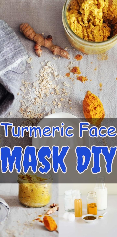 Turmeric Face Mask DIY