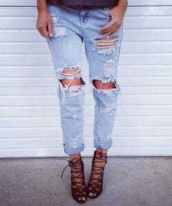 5 DIY Ripped Jeans - How To Make Ripped Jeans