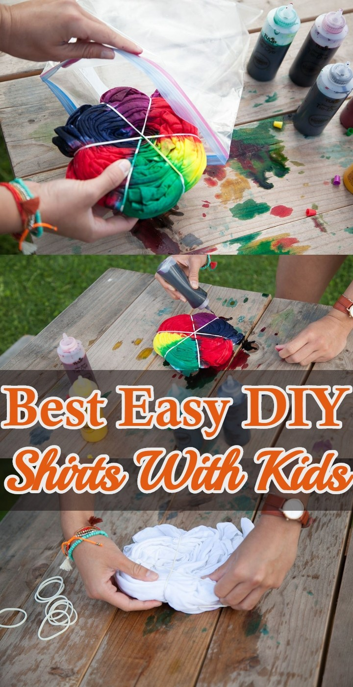 Best Easy DIY Shirts With Kids