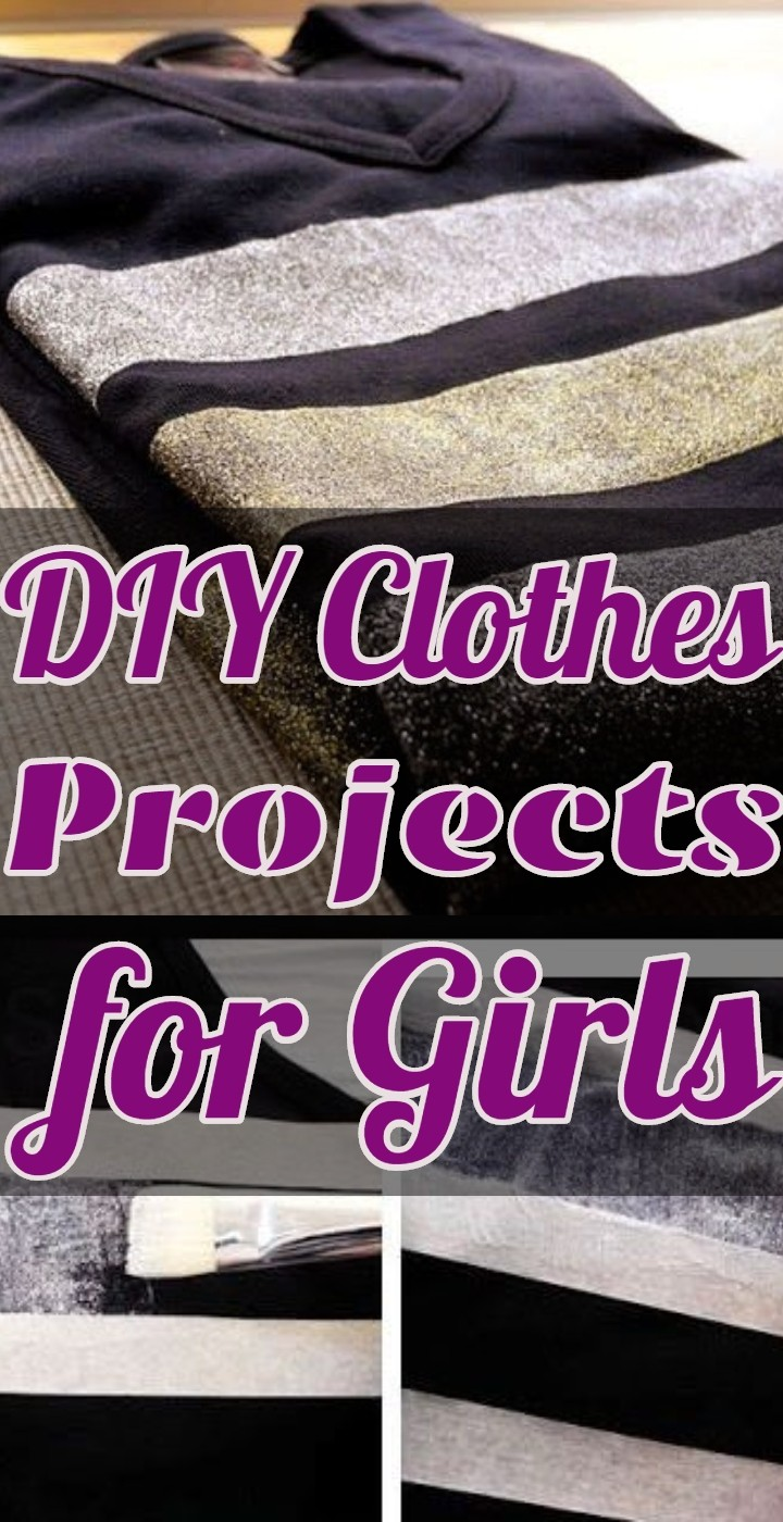 DIY Clothes Projects for Girls