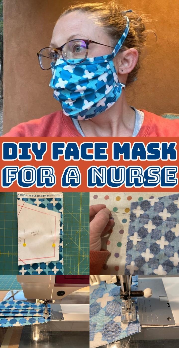 DIY Face Mask For A Nurse