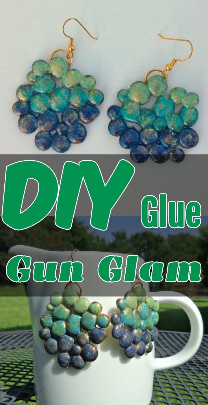 DIY Glue Gun Glam
