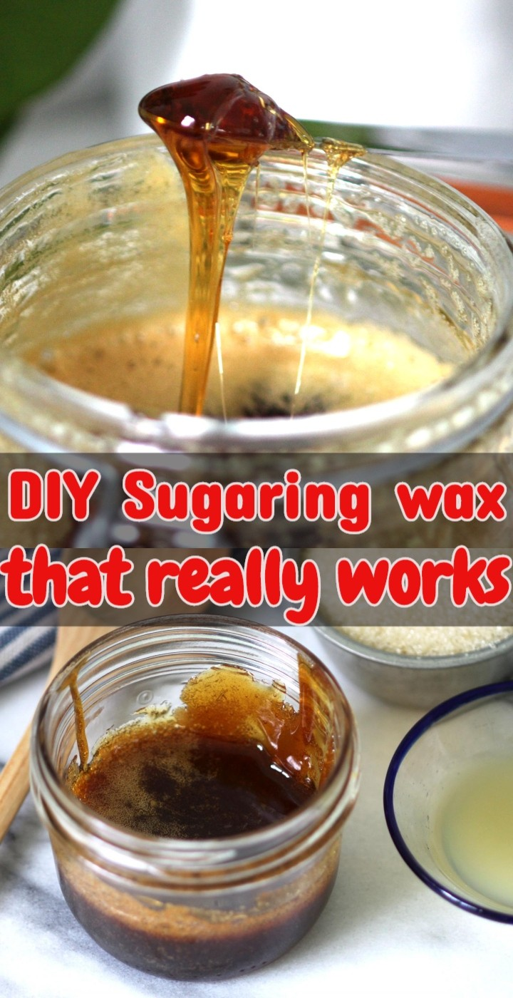 DIY Sugaring wax that really works