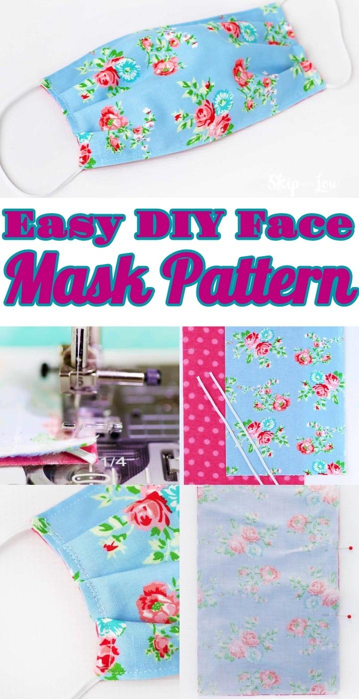 Easy DIY Face Mask Pattern