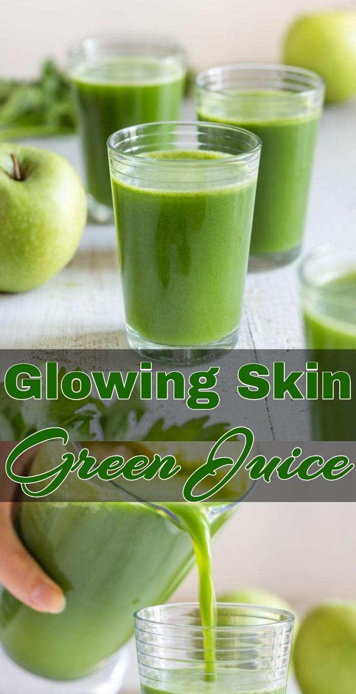 Glowing Skin Green Juice 1
