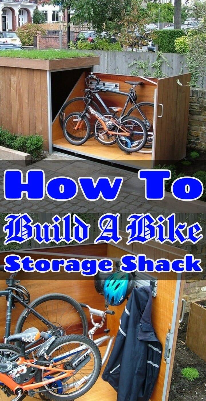 How To Build A Bike Storage Shack