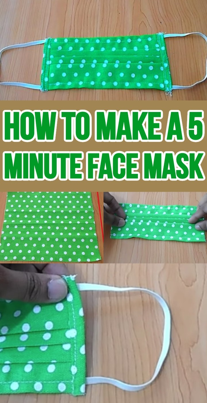 How To Make A 5 Minute Face Mask