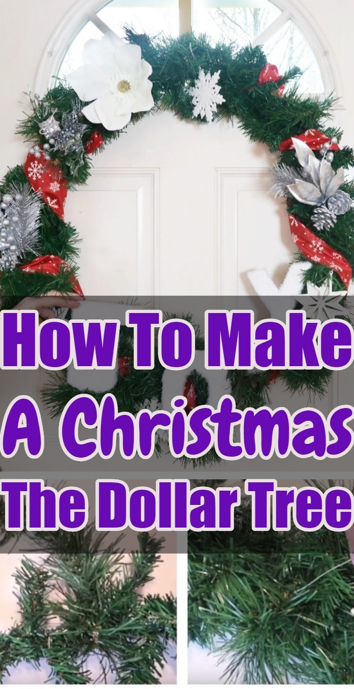 How To Make A Christmas The Dollar Tree