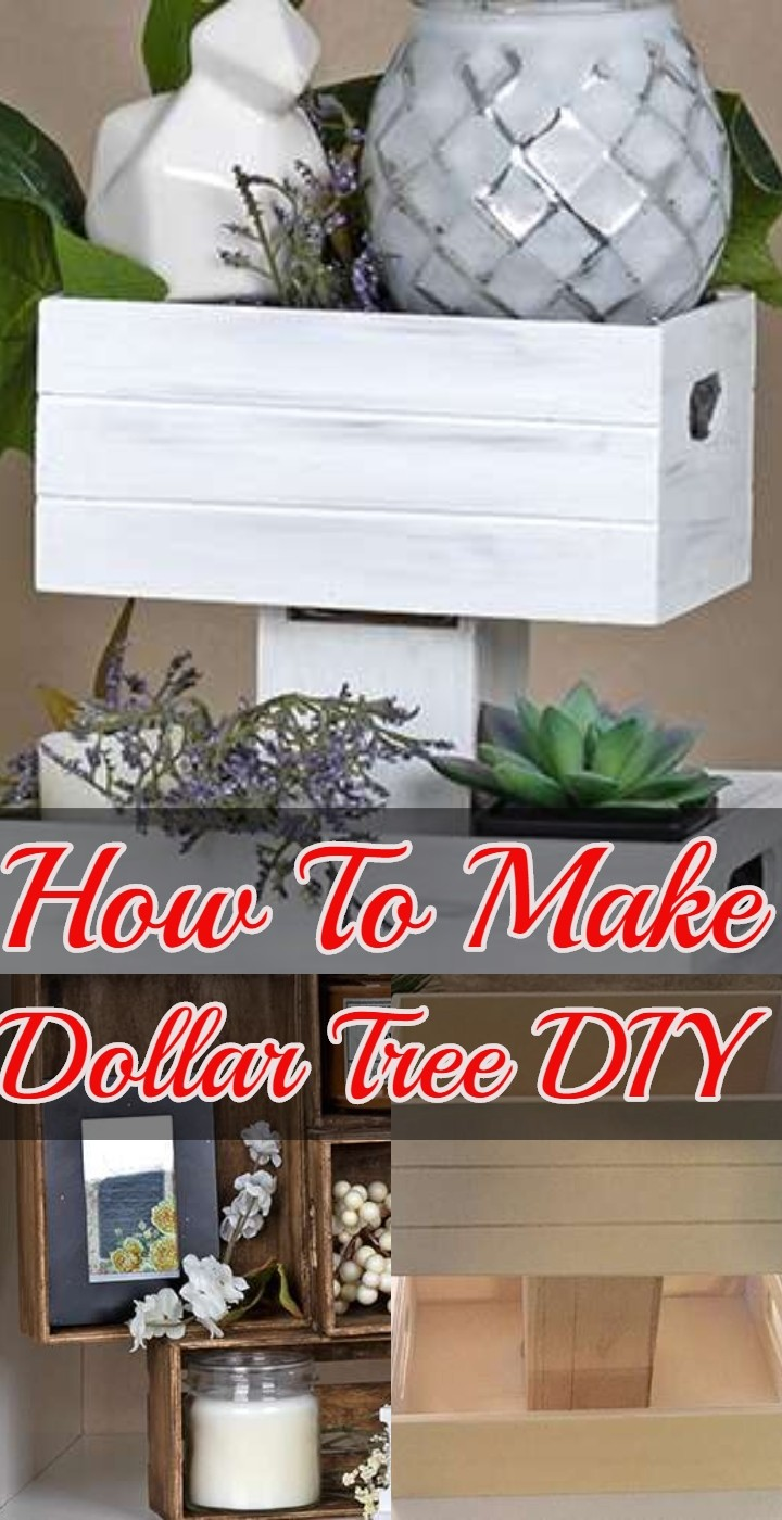 How To Make Dollar Tree DIY