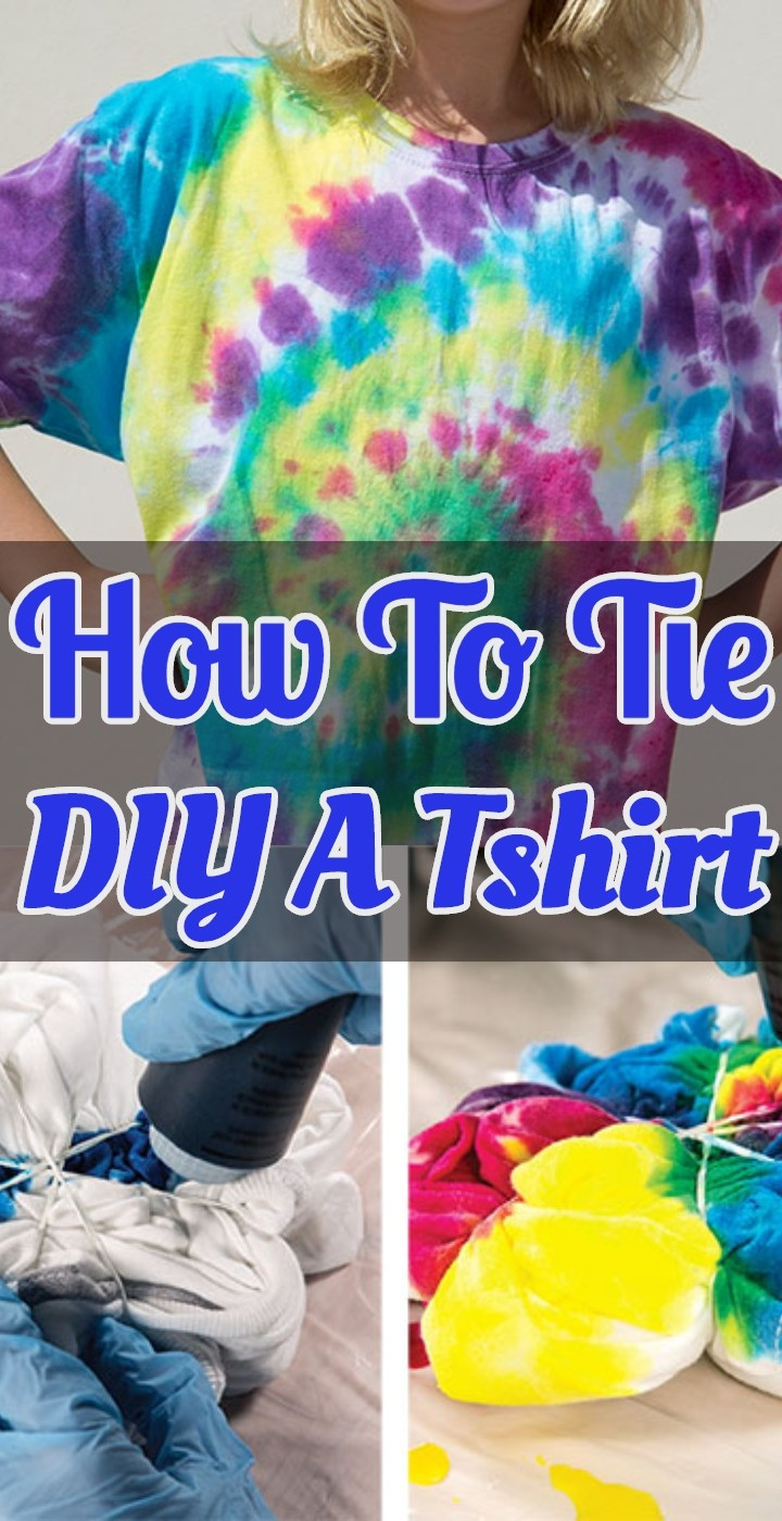 How To Tie DIY A Tshirt