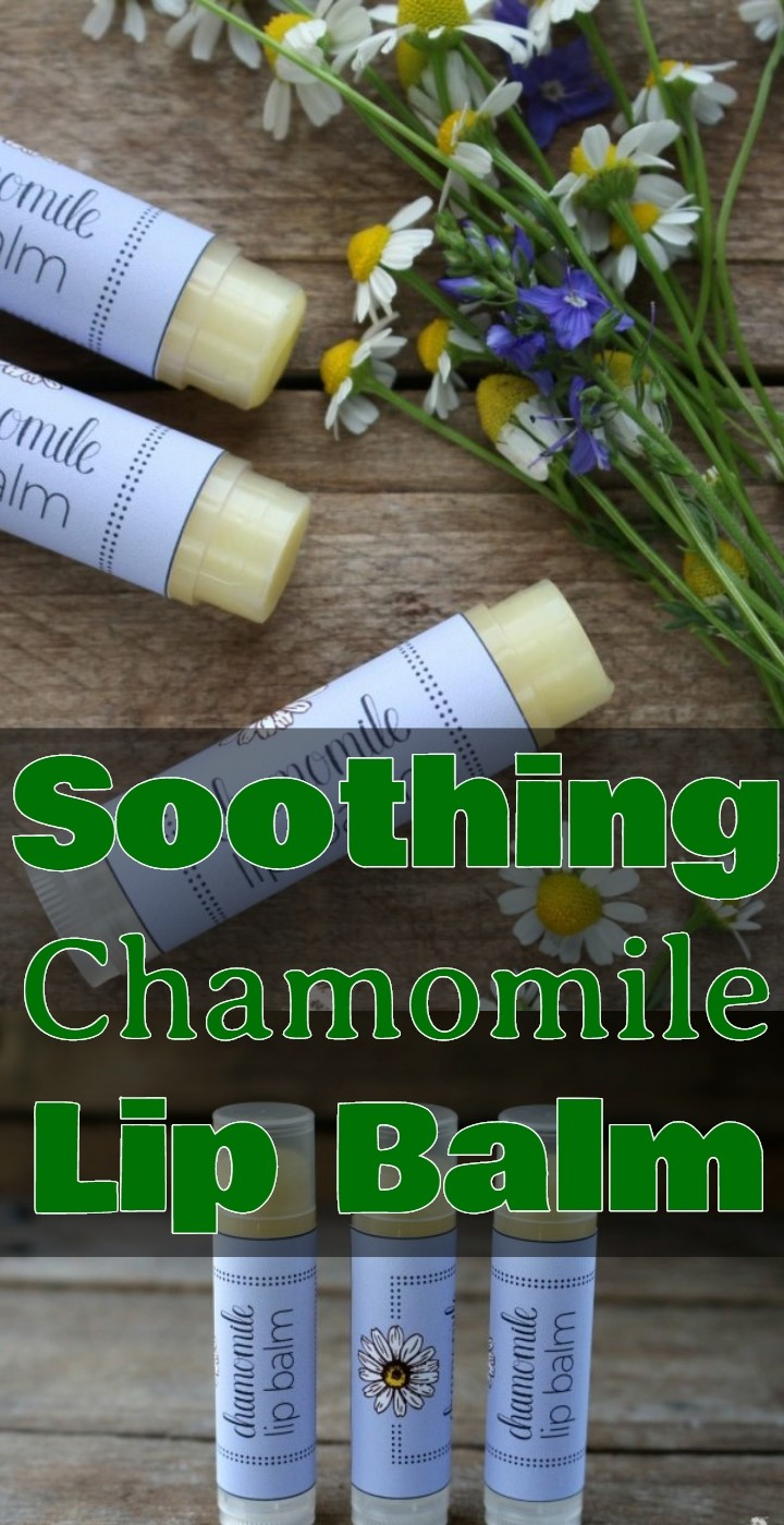 Soothing Chamomile Lip Balm