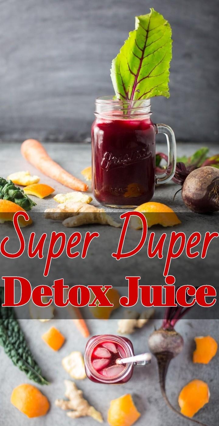 Super Duper Detox Juice 1
