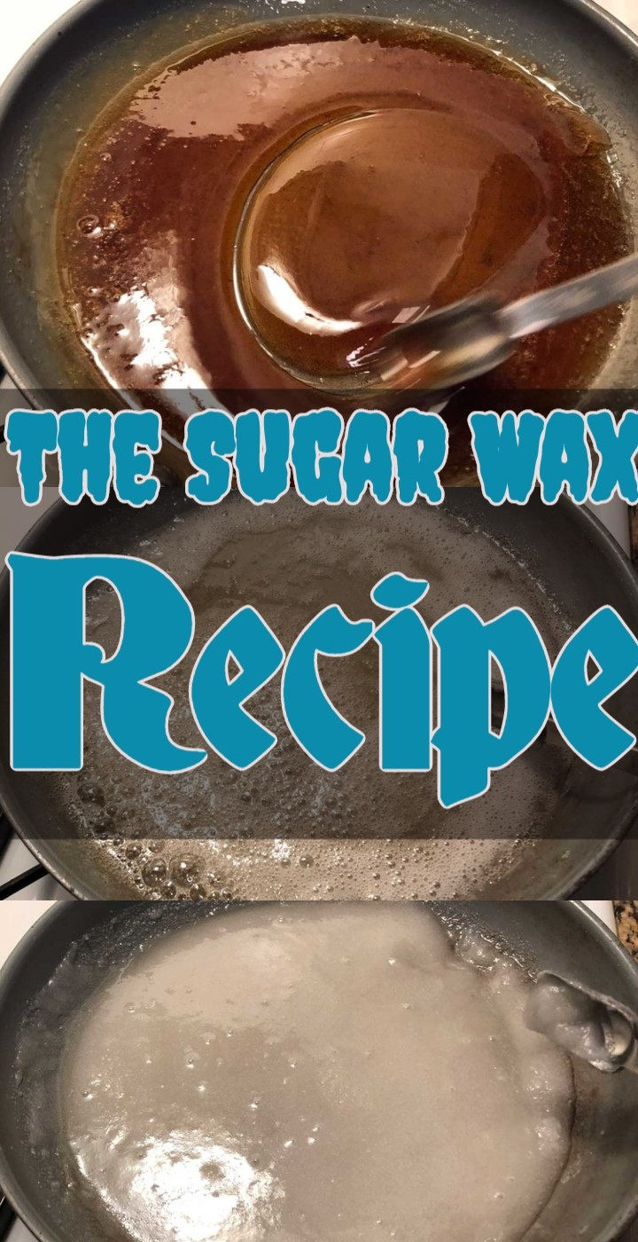 The Sugar Wax Recipe
