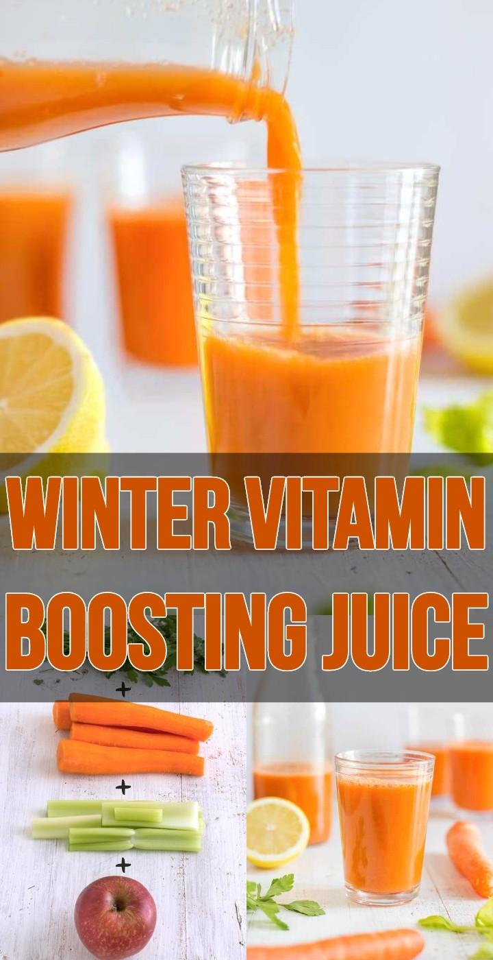 Winter Vitamin Boosting Juice