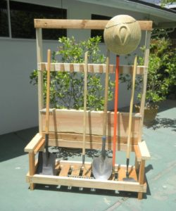 10 DIY Garden Tool Storage Organizer Ideas
