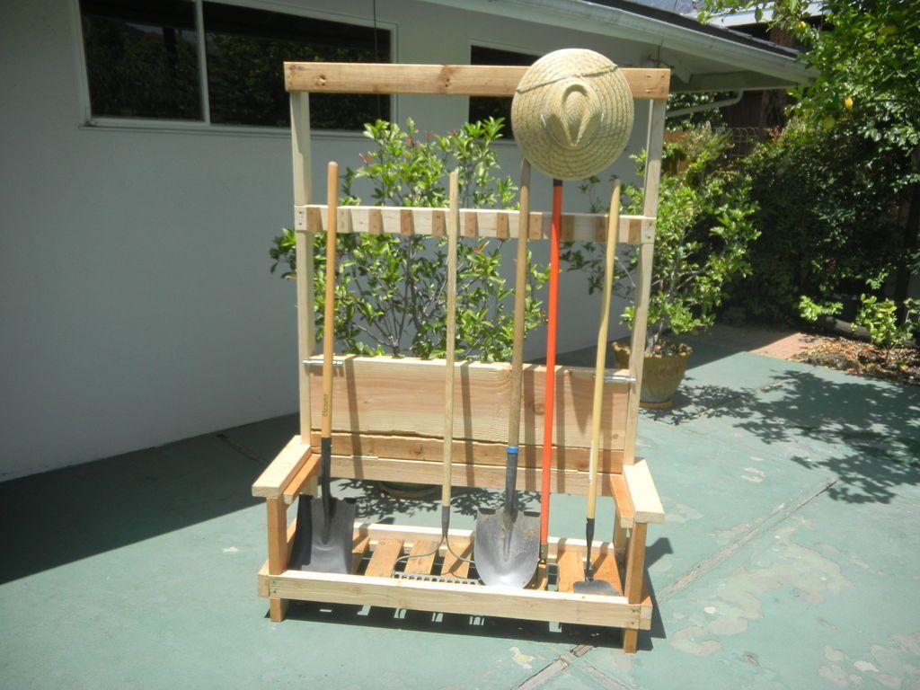5 DIY Garden Tool Storage Organizer Ideas