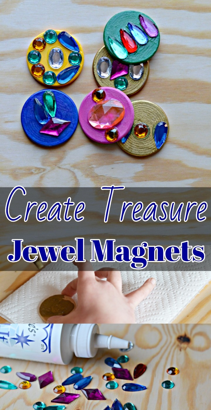 Create Treasure Jewel Magnets