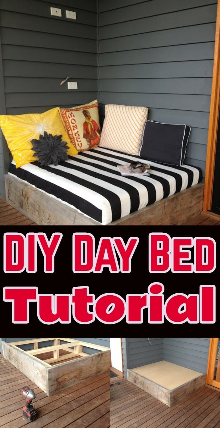DIY Day Bed Tutorial