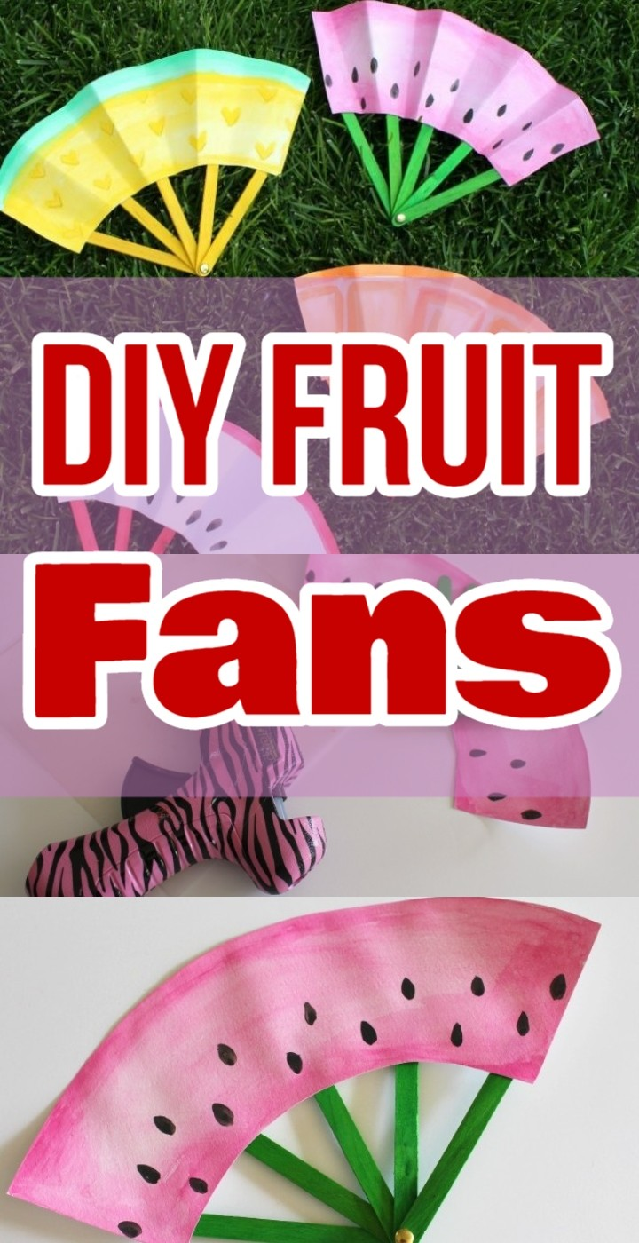 DIY Fruit Fans