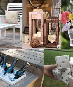 DIY Garden Seating Ideas - Outdoor Seating Area