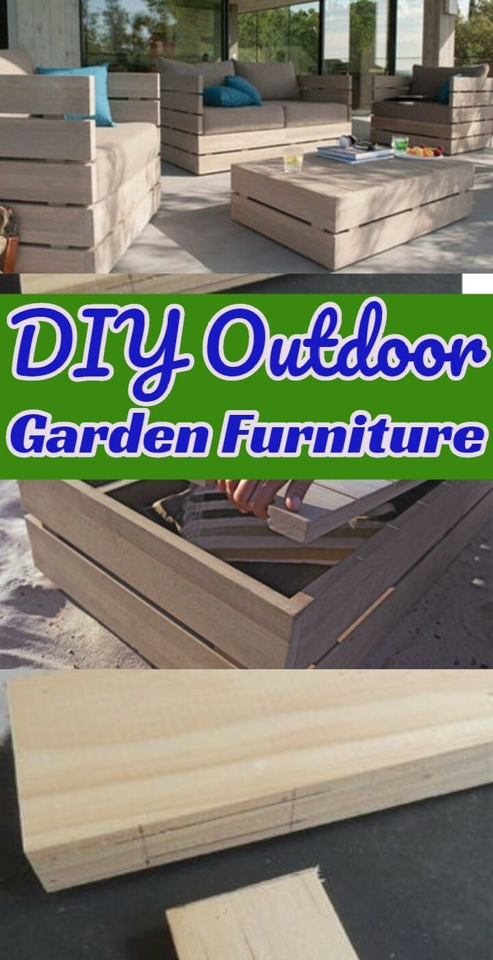 DIY Outdoor Garden Furniture