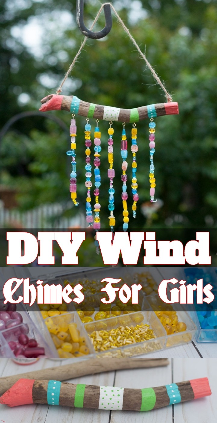DIY Wind Chimes For Girls
