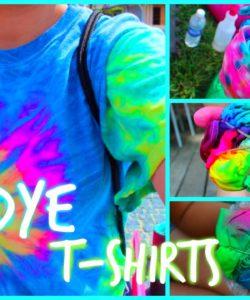 How To Tie Dye A Shirt - Tie Dye Shirt Patterns