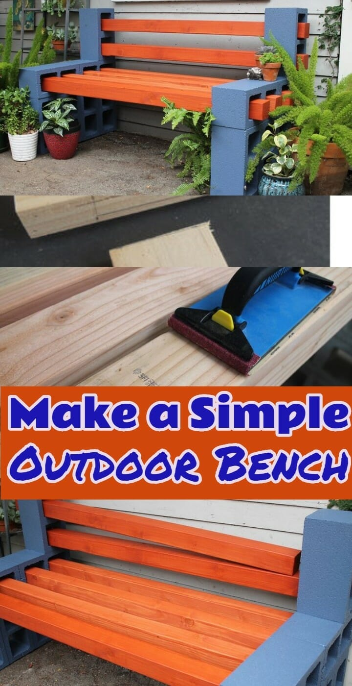 Make a Simple Outdoor Bench