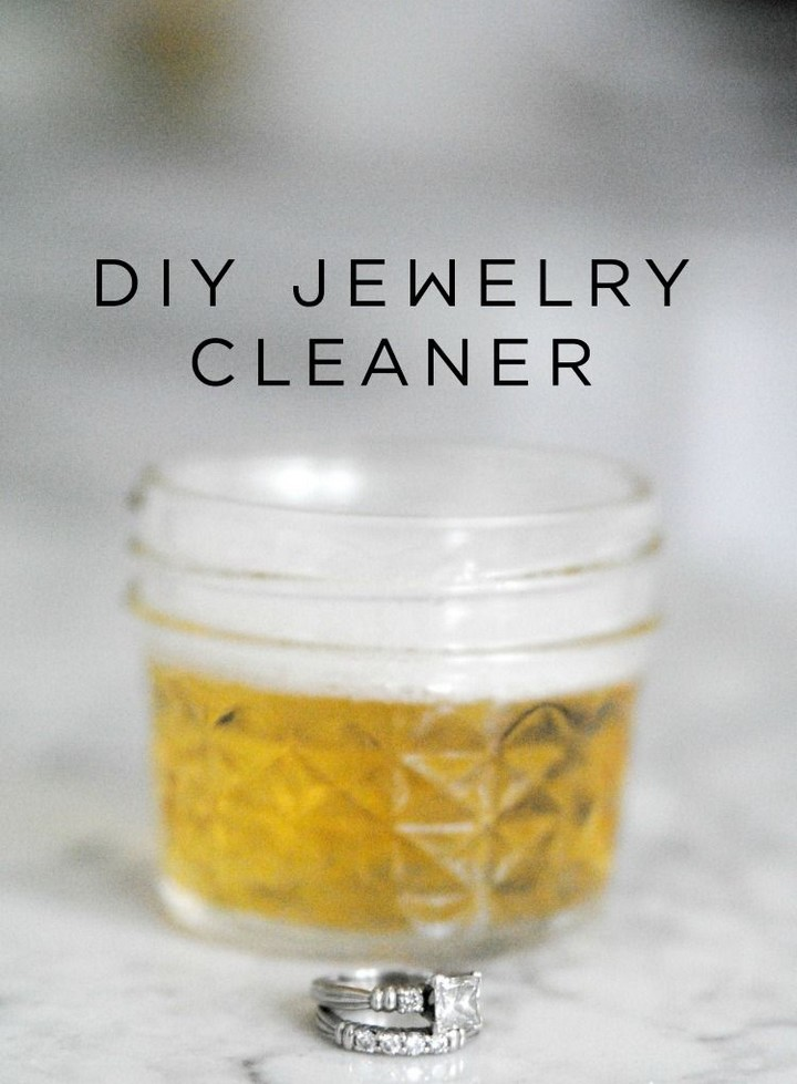 DIY Bling Wash Natural Jewelry Cleaner