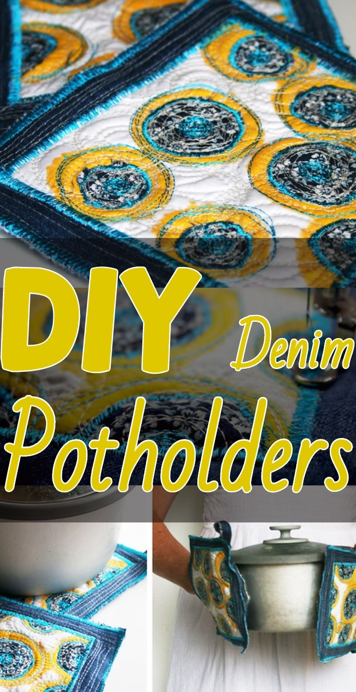 DIY Denim Potholders