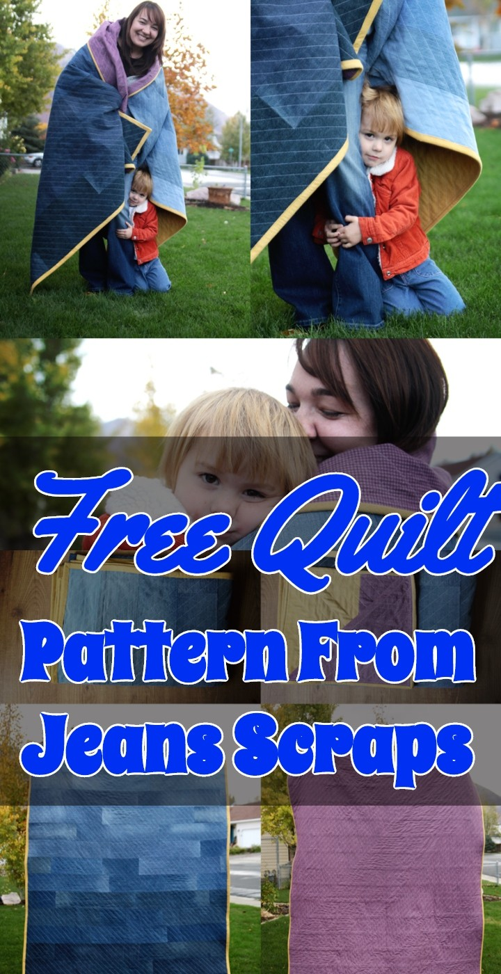 Free Quilt Pattern From Jeans Scraps