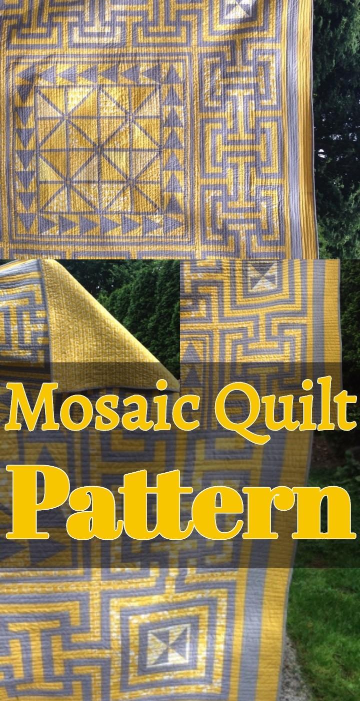 Mosaic Quilt Pattern