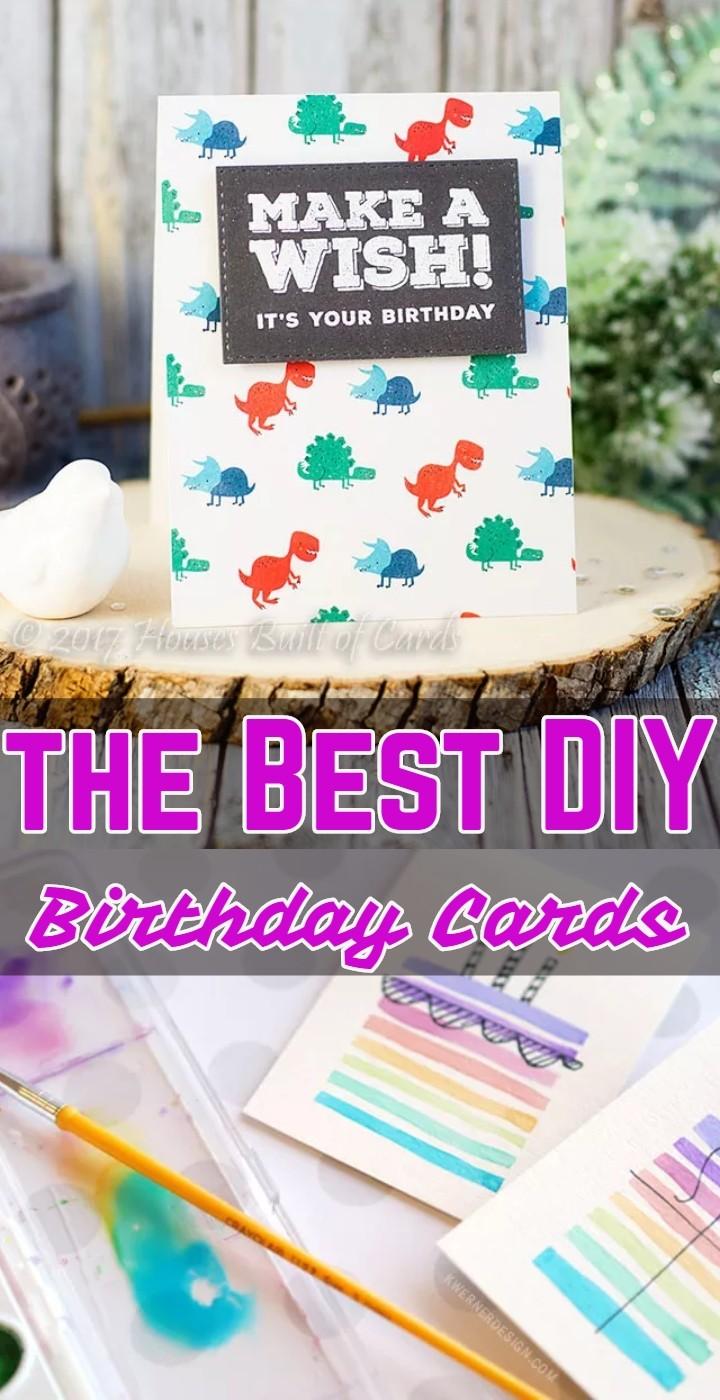 the Best DIY Birthday Cards