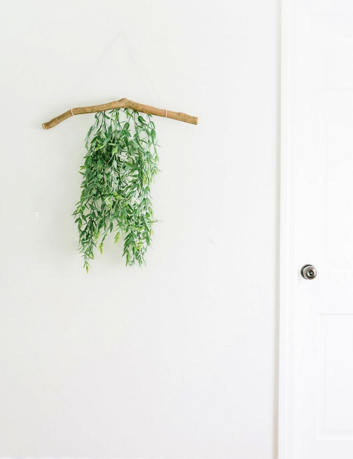 Modern Decent Summer Wall Hanging Branch