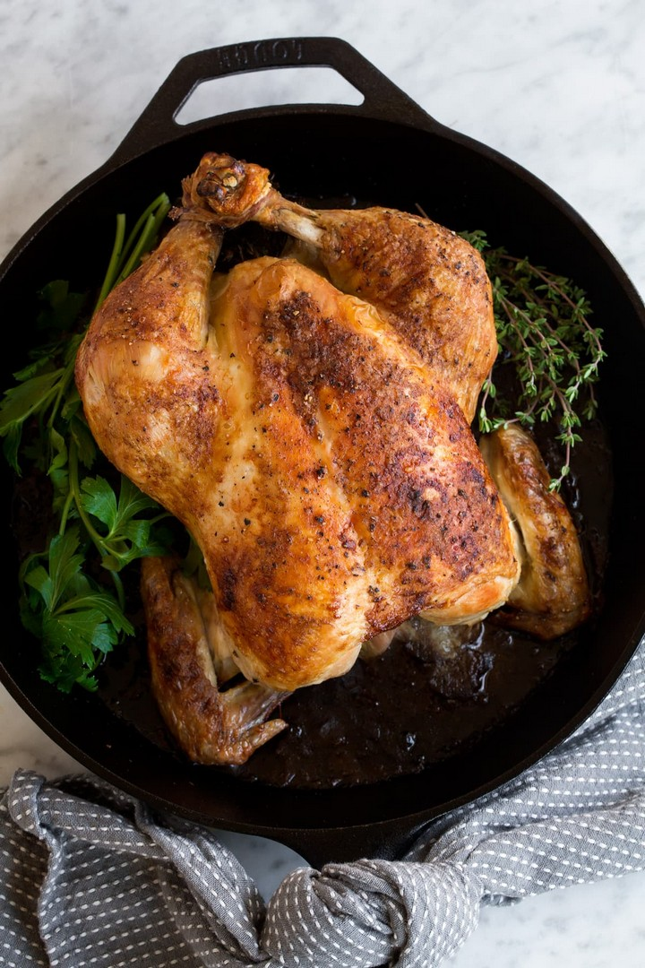 Roast Chicken and Chicken Gravy