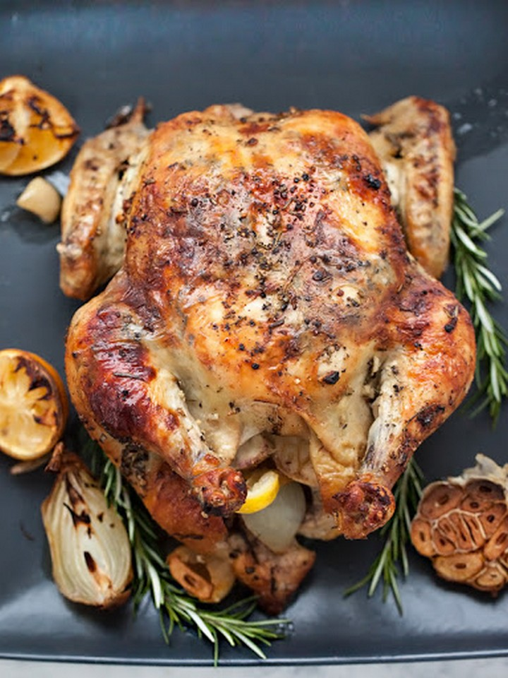 Rosemary Roasted Chicke